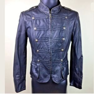 Nordstrom Gallery Faux Leather Jacket